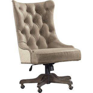 Clearance Leather Desk Chair by Hooker Furniture