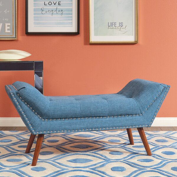 Justin Upholstered Bench by Ave Six