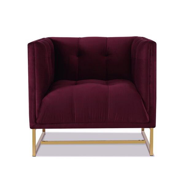 Cloyd 21.5'' Armchair By Everly Quinn