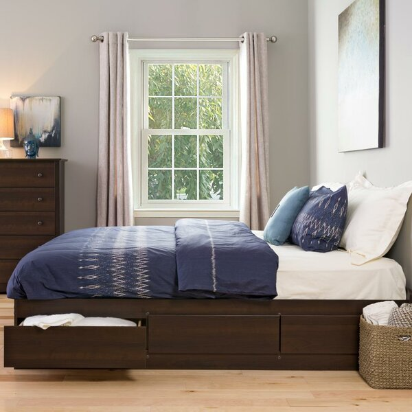 Haycraft King Storage Platform Bed by Latitude Run