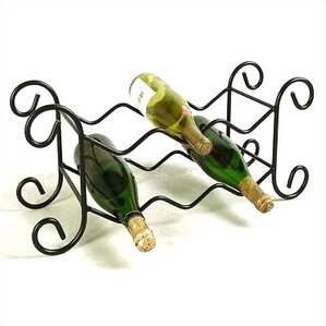 6 Bottle Tabletop Wine Rack by Grace Collection