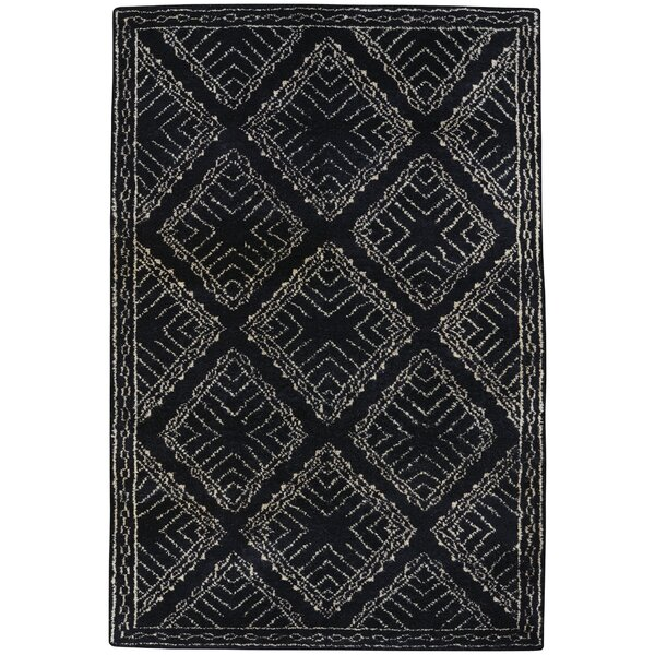 Fortress Hand-Knotted Ebony Area Rug by Capel Rugs