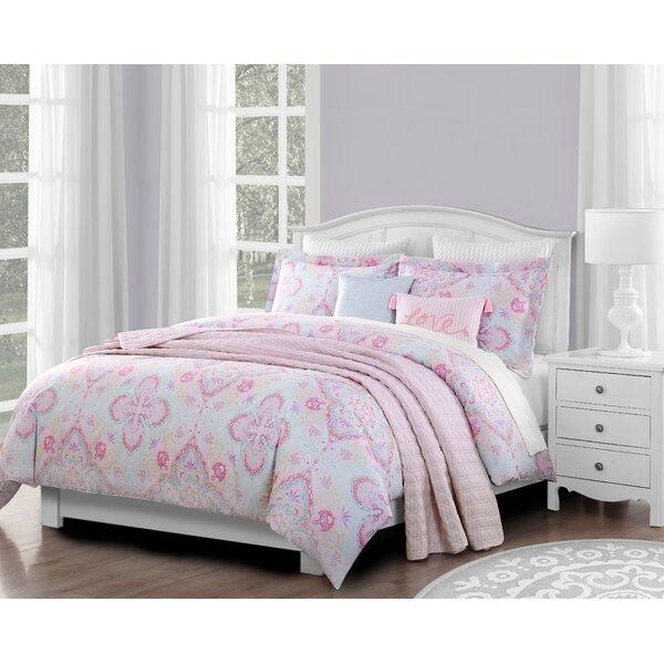 Bayard Pastel Comforter Set by Harriet Bee