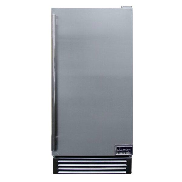 Designer Series Stainless Outdoor 14.6 Mini Refrigerator by Vinotemp