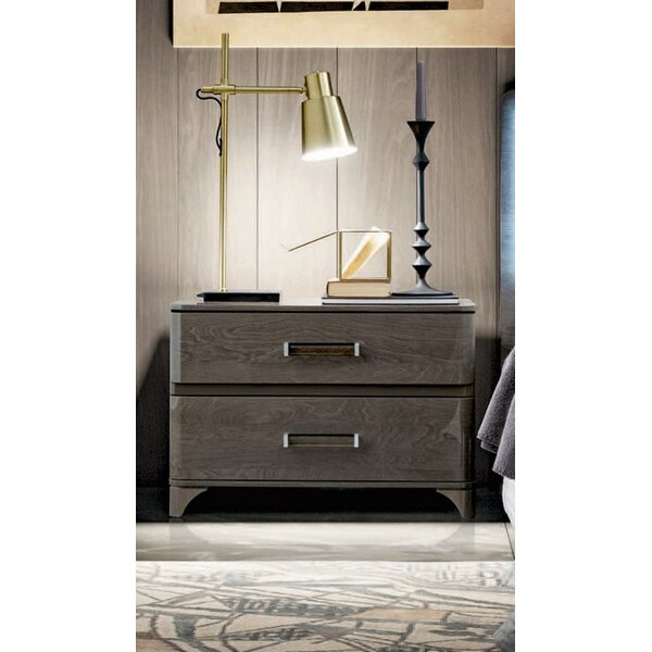 Dann 2 Drawer Nightstand by Brayden Studio