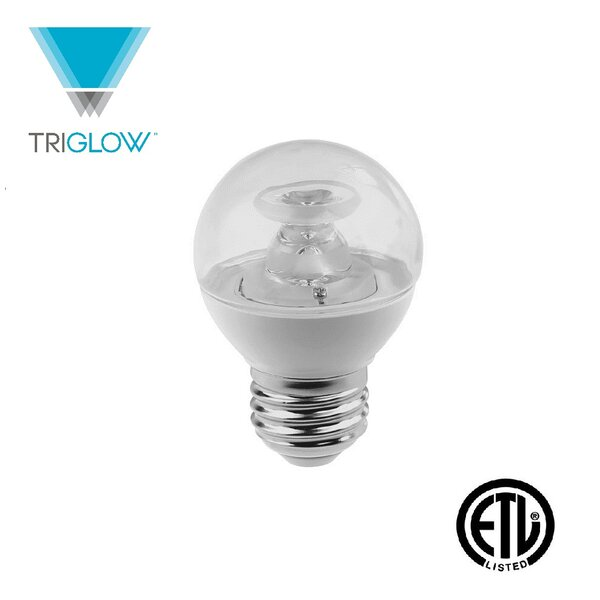 40W Equivalent E26 LED Globe Light Bulb by TriGlow