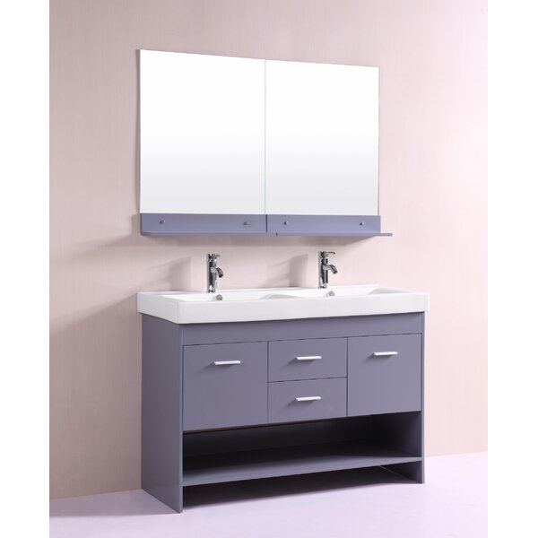 Nimesh 48 Double Bathroom Vanity Set by Orren Ellis