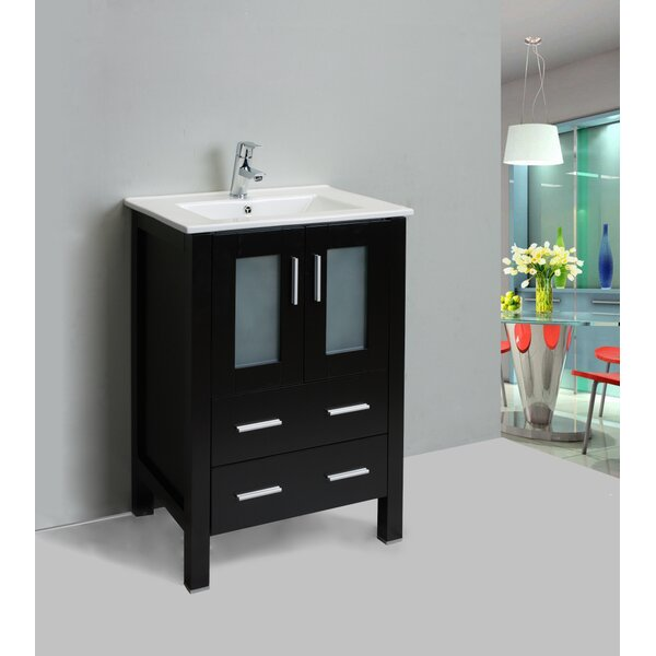 Strecker 24 Single Bathroom Vanity Set by Ebern Designs