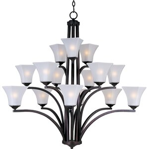 Pearson 15-Light Shaded Chandelier