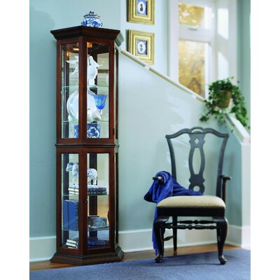 Nancy Lighted Curio Cabinet