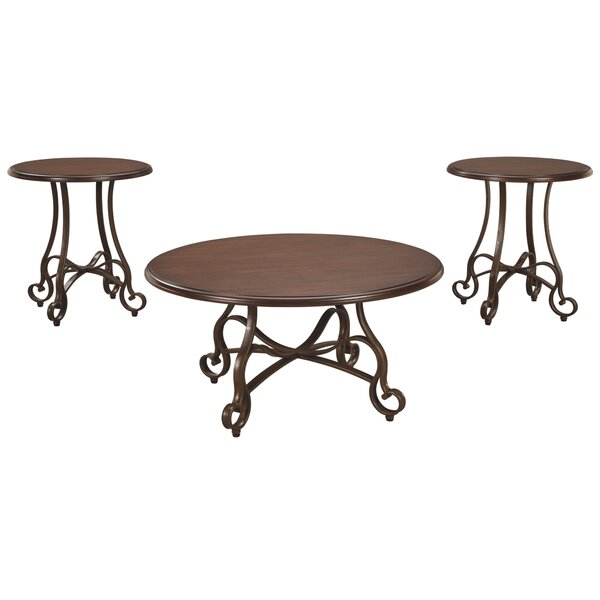 Kempner 3 Piece Coffee Table Set
