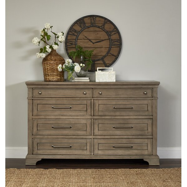 Trisha Yearwood Home Boardwalk 8 Drawer Double Dresser by Trisha Yearwood Home Collection
