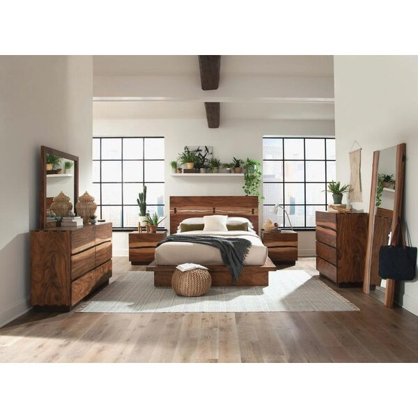 Best  Schmitt Platform Configurable Bedroom Set By Loon Peak Savings