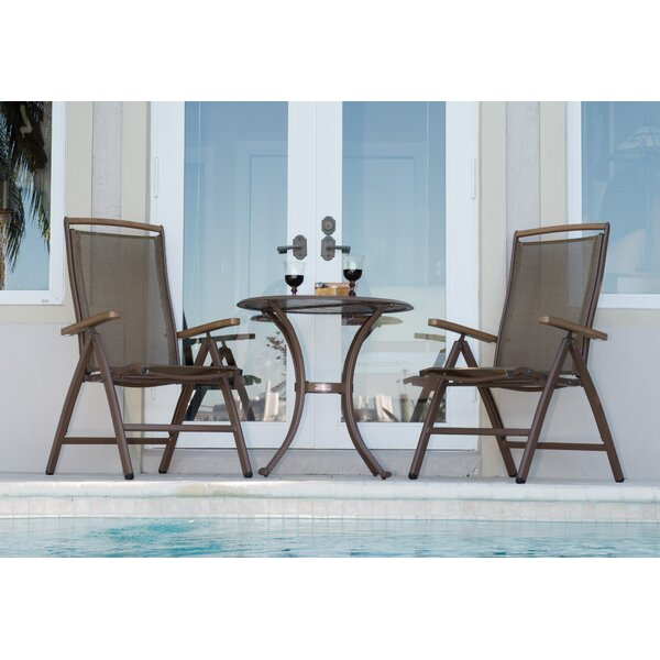 Island Breeze 3 Piece Dining Set by Panama Jack Outdoor