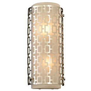 Great Price Brocka 2-Light Wall Sconce By Willa Arlo Interiors