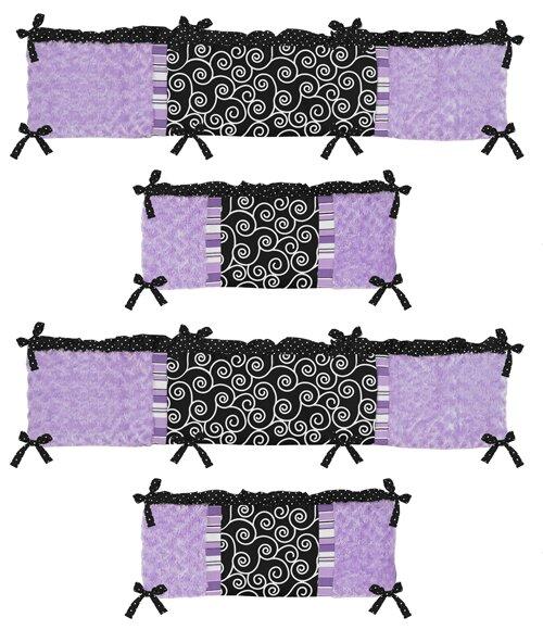 Kaylee Crib Bumper by Sweet Jojo Designs