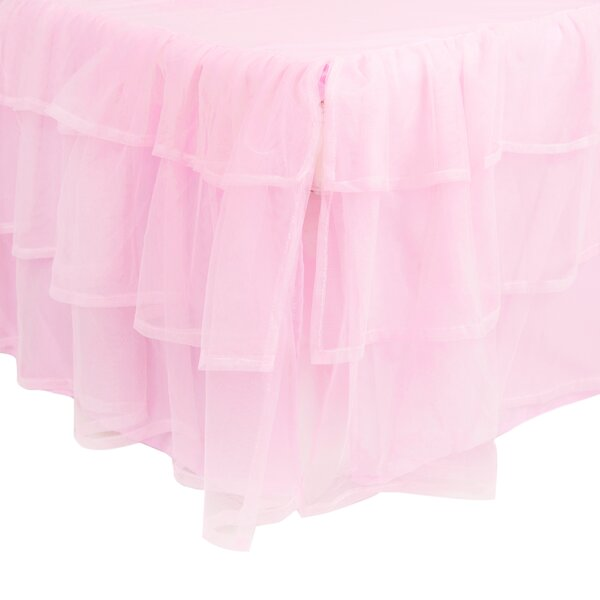 Triple Layer Tulle Bed Skirt by Tadpoles