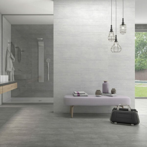 Atrium Moon 12 x 24 Porcelain Field Tile in Gray by QDI Surfaces