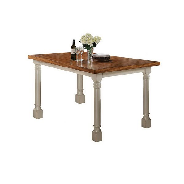 Syrna 3 Piece Counter Height Dining Table Set by August Grove