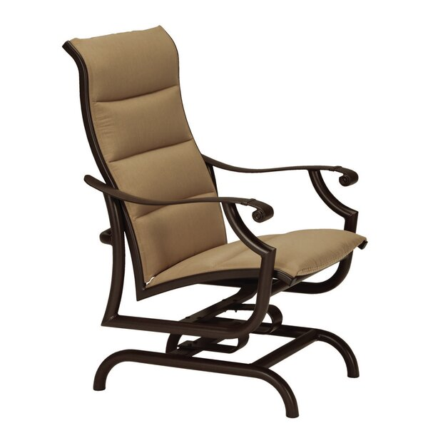 Montreux II Padded Sling Action Patio Chair by Tropitone