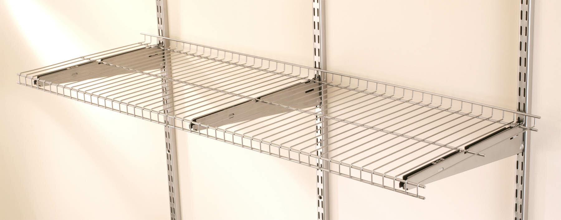 Rubbermaid Fasttrack Wire Shelf Reviews Wayfair