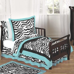 Zebra 5 Piece Toddler Bedding Set by Sweet Jojo Designs