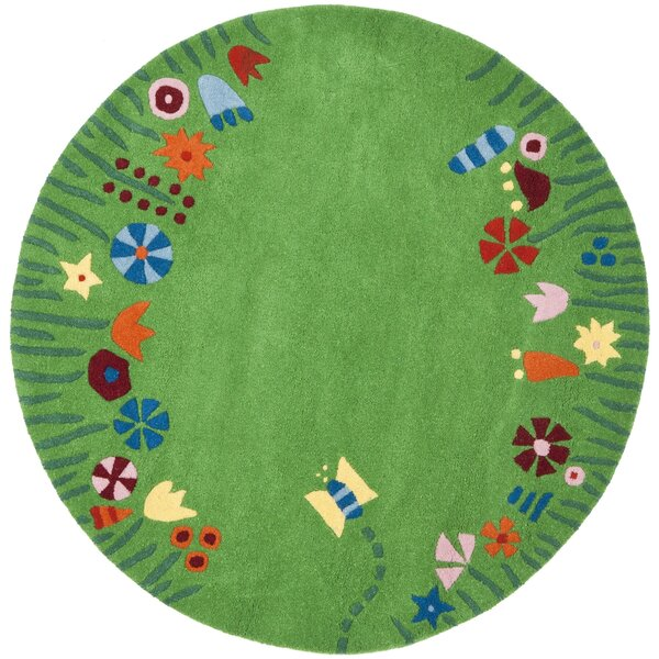 Claro Green / Multi Rug by Harriet Bee