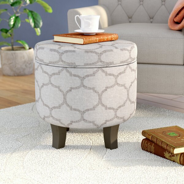 Duplessis Storage Ottoman by Gracie Oaks