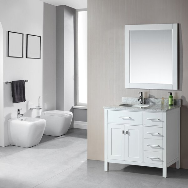 Marshfield Freestanding 36 Single Bathroom Vanity Set by Darby Home Co