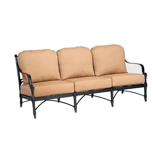 Isla Patio Sofa with Cushions by Woodard