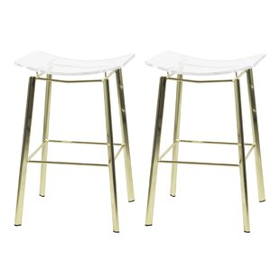 Swell 300 Lbs To 400 Lbs Capacity Gold Counter Height Bar Stools Ibusinesslaw Wood Chair Design Ideas Ibusinesslaworg