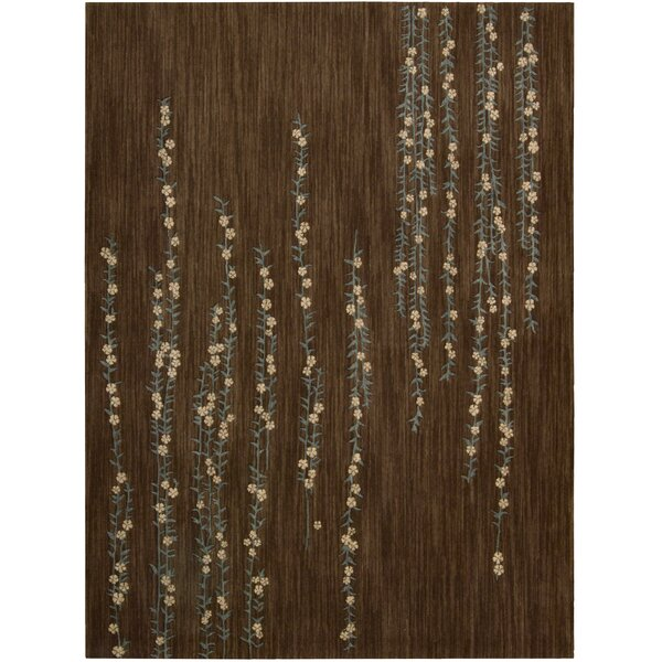 Phippsburg Brown Area Rug by Bloomsbury Market