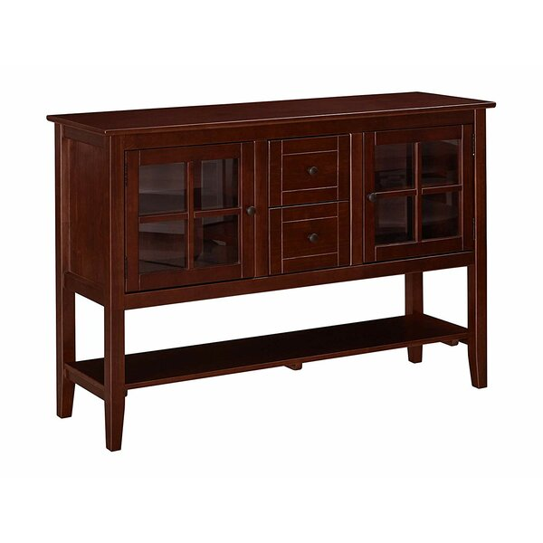 Huftalen Solid Wood TV Stand For TVs Up To 65