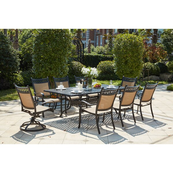 Wabon Traditional 9 Piece Dining Set by Darby Home Co