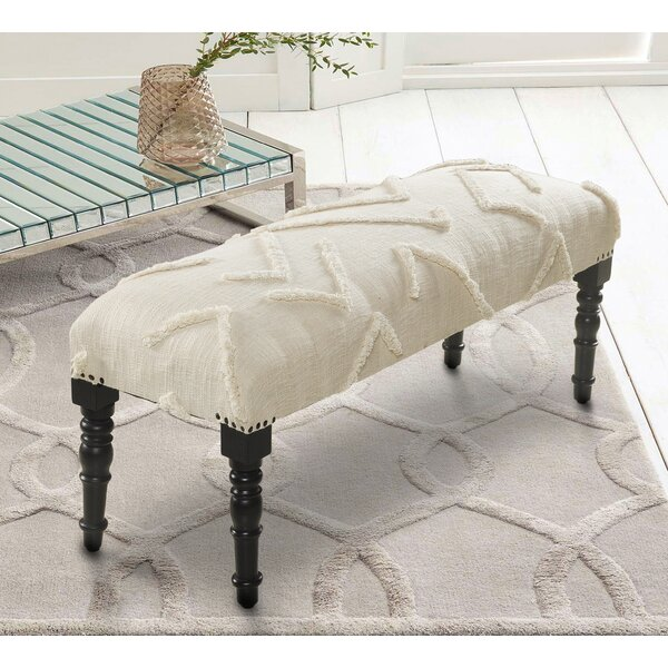 Ipswich Upholstered Bench by Bungalow Rose