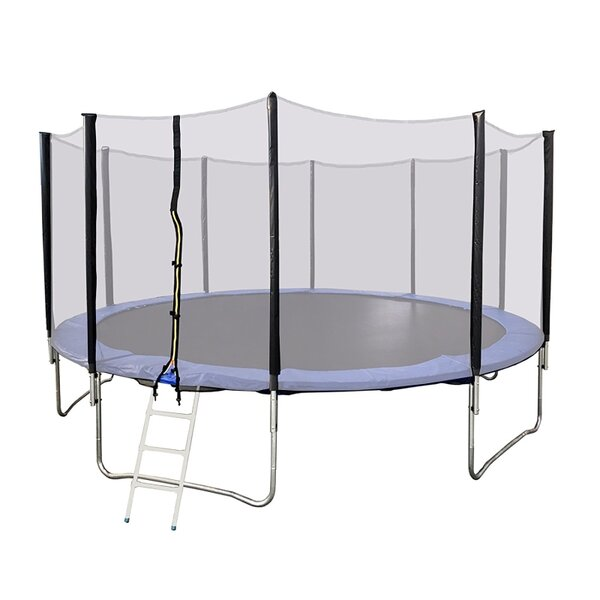 Trampoline Octagon with Safety Enclosure by ALEKO