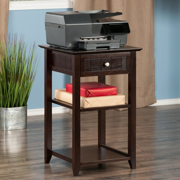 Bonanno End Table with Storage by Charlton Home