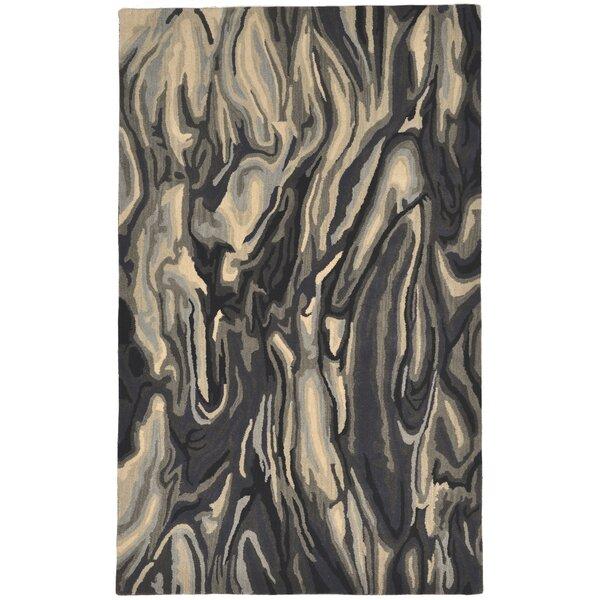 Terrill Hand Tufted Wool Gray Area Rug by Brayden Studio