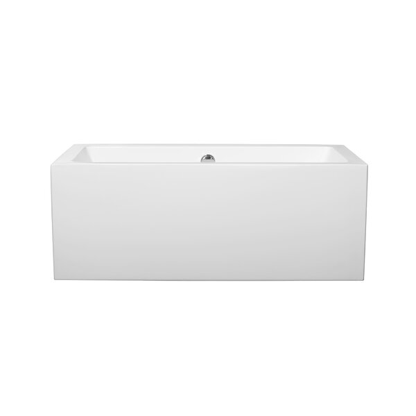 Melody 59.5 x 29.5 Soaking Bathtub by Wyndham Collection