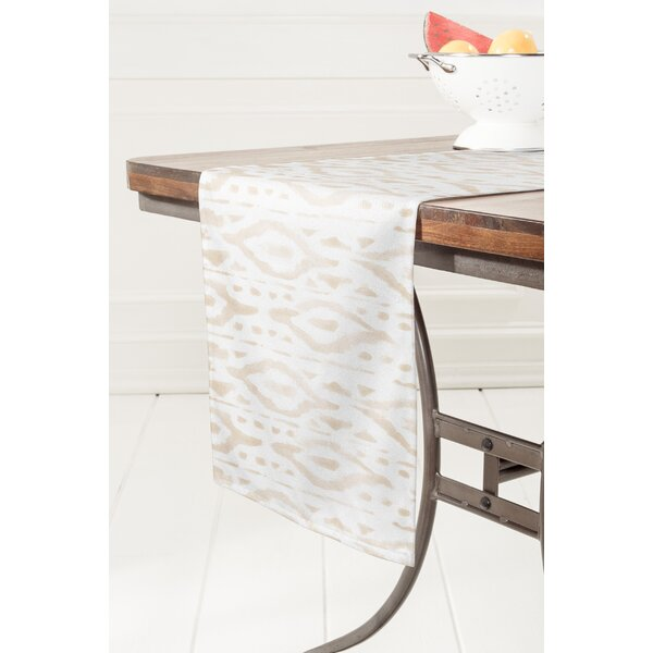 Linen Table Runner by East Urban Home