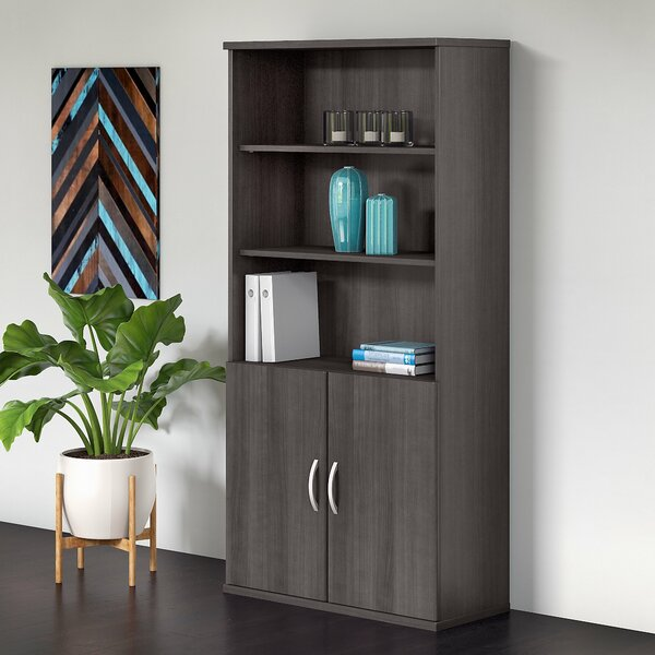 Studio C 5 Shelf Standard Bookcase by Bush Business Furniture