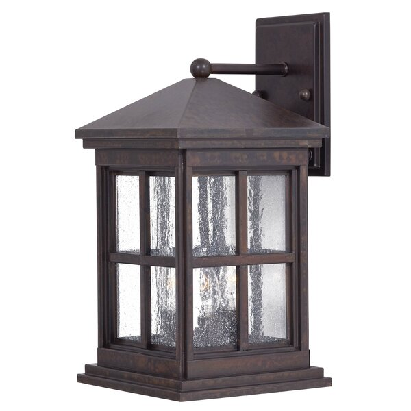 Berkeley 3-Light Outdoor Wall Lantern by Great Outdoors by Minka