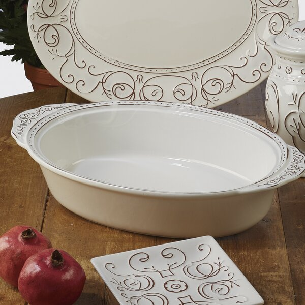 Lazo Oval Baking Dish by Ophelia & Co.