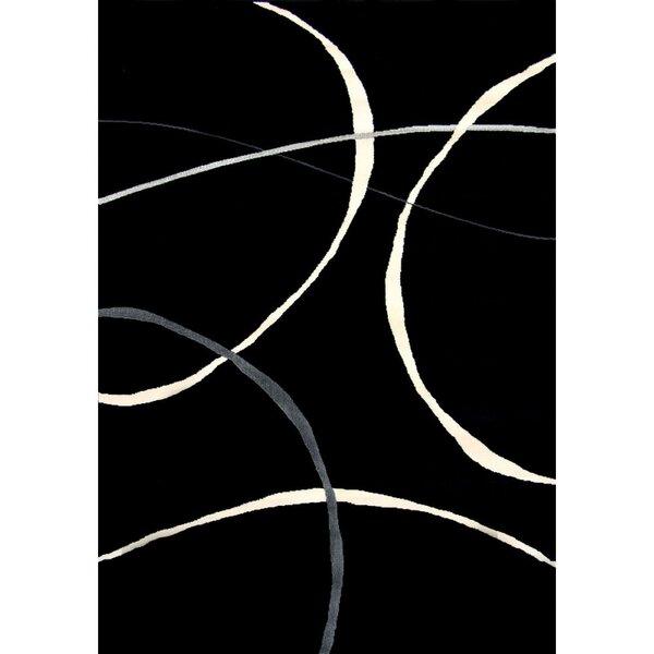 Ilwell Black Indoor/Outdoor Area Rug by Orren Ellis