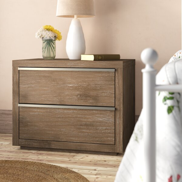 Oscoda 2 Drawer Nightstand By Gracie Oaks