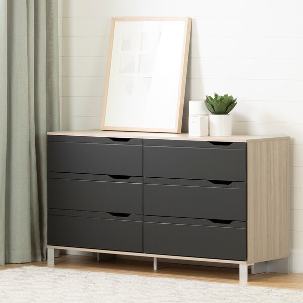 Statesboro 6 Drawer Double Dresser by Zipcode Design