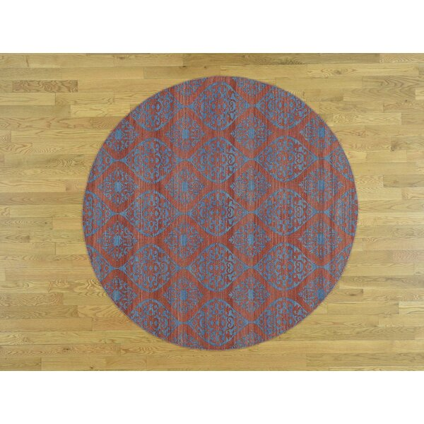 One-of-a-Kind Braidwood Reversible Handmade Kilim Wool Area Rug by Isabelline
