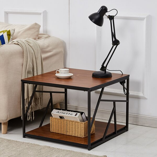 Makenna End Table With Storage By Union Rustic