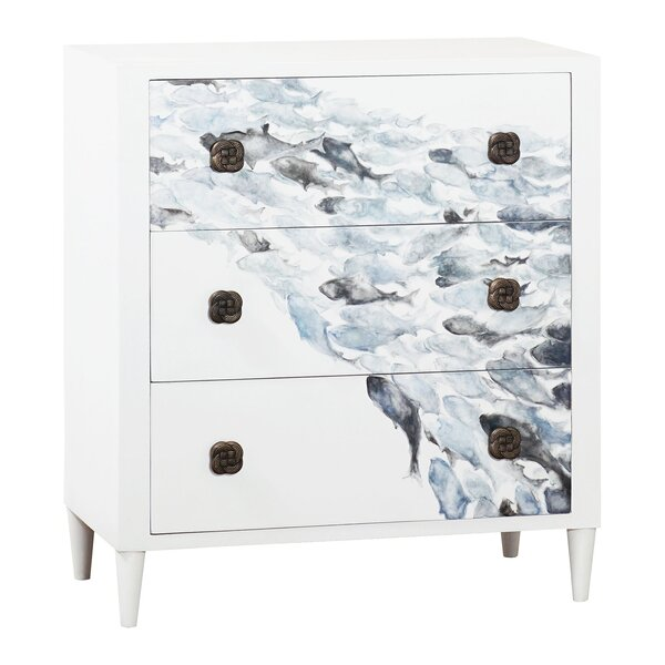 Keaton 3 Drawer Accent Chest by Rosecliff Heights Rosecliff Heights