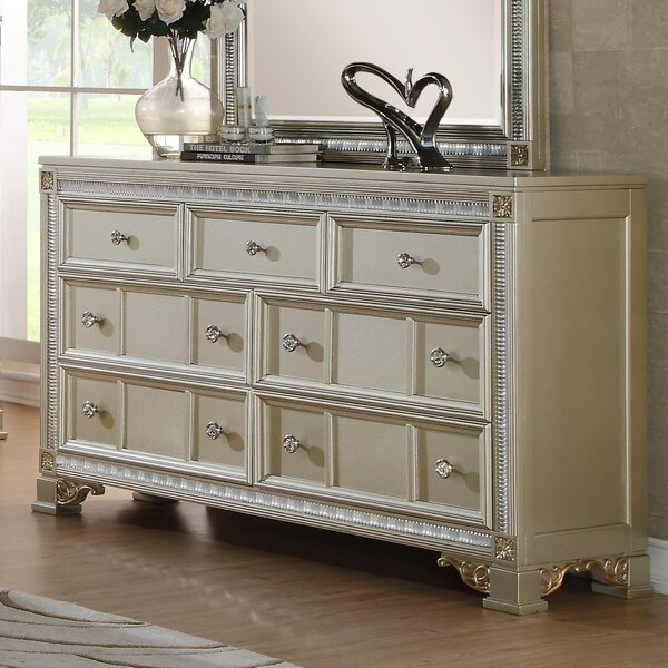 Chumbley 7 Drawer Dresser By House Of Hampton by House of Hampton Bargain